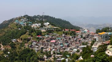 The Murree city, Kashmir Point, Pakistan. - Image
