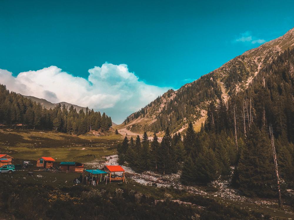 A beautiful view in kumrat, Pakistan