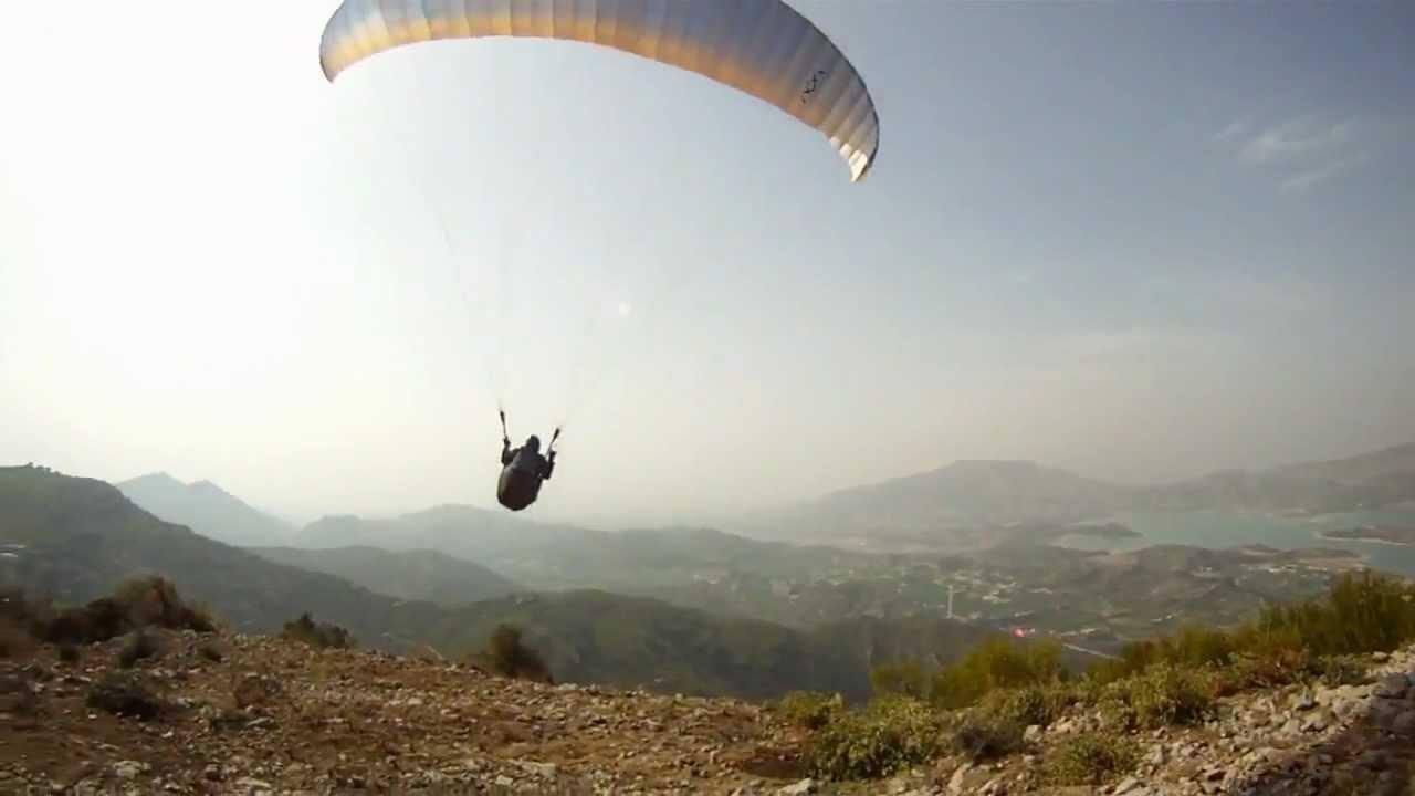 Paragliding in KhanPur Dam